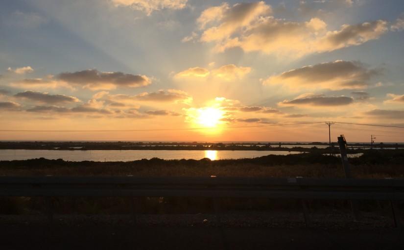 Coastal Road Sunset